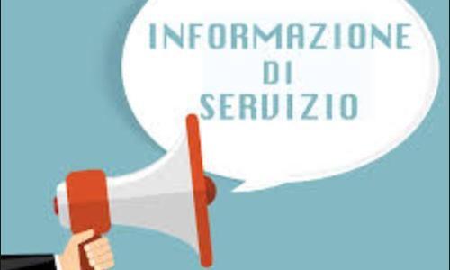 Informazione di Servizio per Paolo Colombo – 25 febbraio