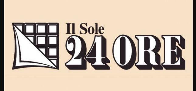 Oggi a pagina 5 de Il Sole 24Ore una mia intervista – 10 settembre 2020 – ore 8,30